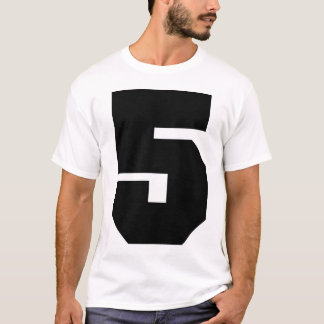 Camiseta Esporte do número 5
