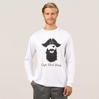 Camiseta Esporte insolente do capitão Salto Gancho Longo