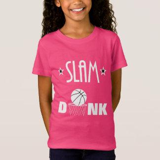 Camiseta Esportes do basquetebol do afundanço que dizem o
