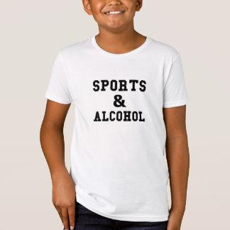 Camiseta Esportes e álcool