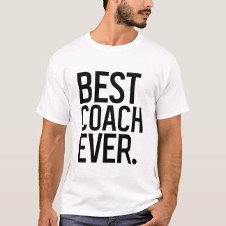 Camiseta Esportes retros do t-shirt do treinador do vintage