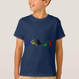 Camiseta Esportes sailboarding Windsurfing da navigação de