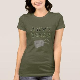 Camiseta Esposa da edição do exército
