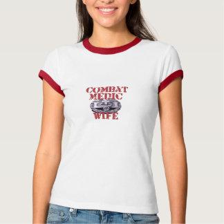 Camiseta Esposa do médico do combate