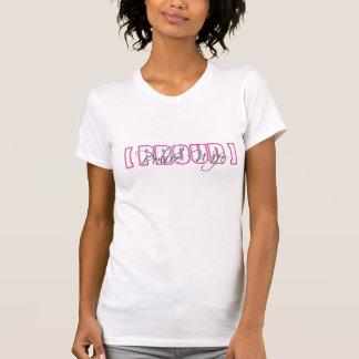 Camiseta Esposa orgulhosa da polícia