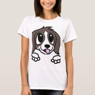 Camiseta espreitar dos desenhos animados de St Bernard