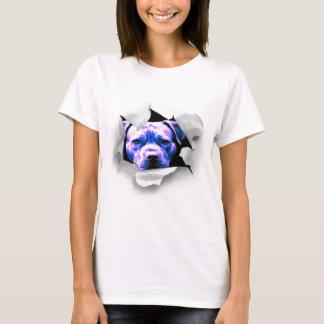 Camiseta Espreite um pitbull da vaia