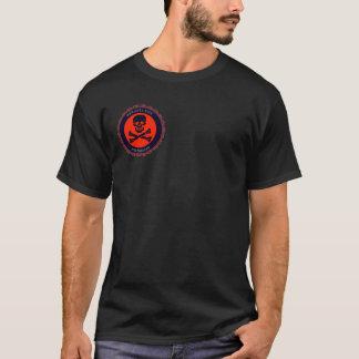 Camiseta esquadrão da morte do anti-arroz
