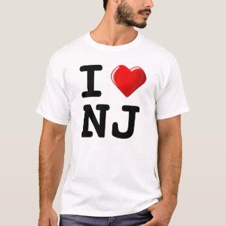 Camiseta Esqueça New York! Eu amo New-jersey!