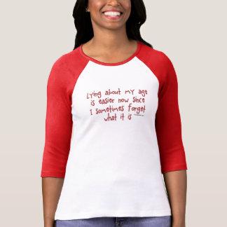 Camiseta Esquecendo meu humor da idade