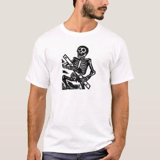 Camiseta Esqueleto, cerca de México 1951