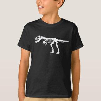 Camiseta Esqueleto do dinossauro de Rex dos Tyrannosaurs