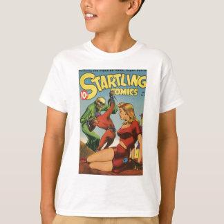 Camiseta Esqueleto do espaço