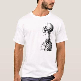 Camiseta esqueleto do perfil