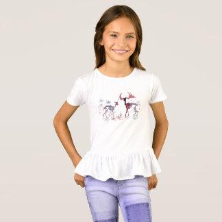 Camiseta Esqueletos dos cervos