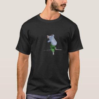 Camiseta esqui no preto