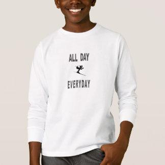 Camiseta Esqui o dia inteiro diário