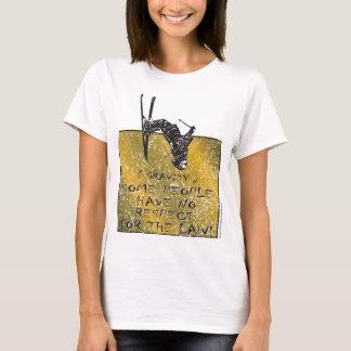 Camiseta Esquiador da gravidade