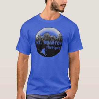 Camiseta Esquiador do Mt. Brigghton Michigan