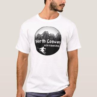 Camiseta Esquiador norte de Conway New Hampshire