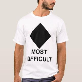 Camiseta Esquiador ou Snowboarder avançado