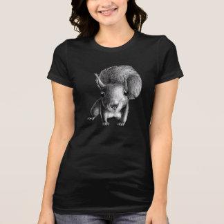 Camiseta Esquilo bonito curioso