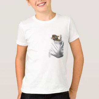 Camiseta Esquilo em meu T do bolso