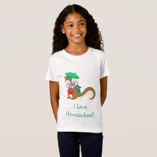 Camiseta Esquilo Homeschool