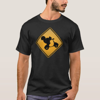 Camiseta Esquilo no patinete