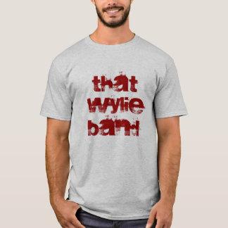 Camiseta Essa banda de Wylie
