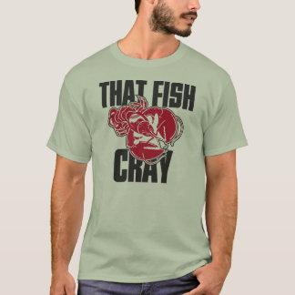 Camiseta Esse peixe Cray