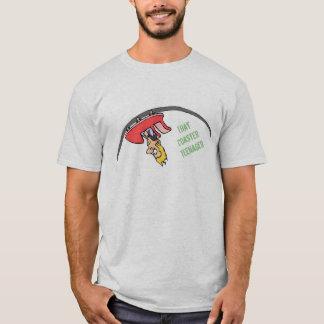 Camiseta Esse T do logotipo do adolescente da porta copos