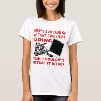 Camiseta Está aqui uma imagem de mim que tempo eu paro