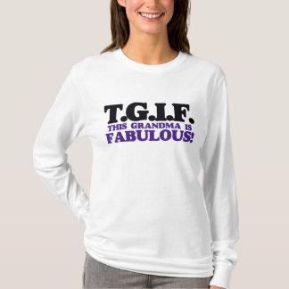 Camiseta Esta avó de TGIF é fabulosa