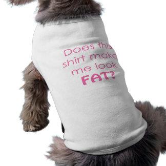 Camiseta Esta camisa faz-me olhar gordo?
