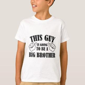 Camiseta Esta cara está indo ser um big brother