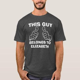Camiseta Esta cara pertence para incorporar o costume