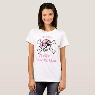 Camiseta Esta é uma mamã real do pirata