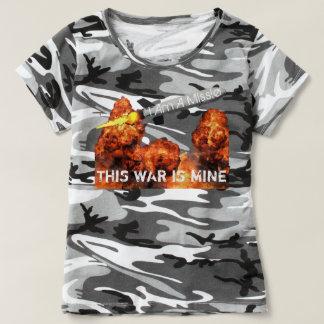 Camiseta Esta guerra é minha II
