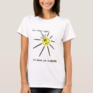 Camiseta Esta luz pequena de meus