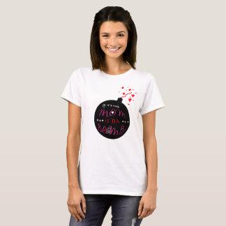 Camiseta Esta mamã é bomba da Dinamarca