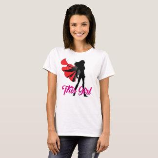 Camiseta Esta menina - concessão