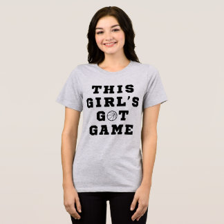 Camiseta Esta menina de Tumblr t-shirt obtida o jogo