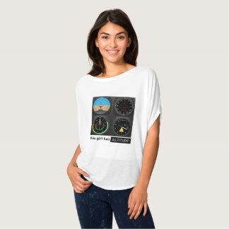 Camiseta Esta menina tem a altura!