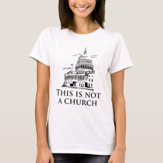 Camiseta Esta não é uma igreja