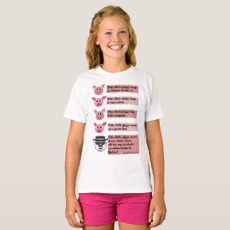 """Camiseta """"Esta"""" paródia leitão pequena, Teeshirt. das"""