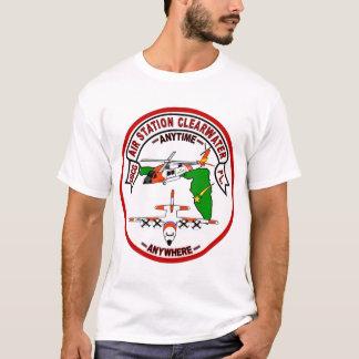 Camiseta Estação aérea Clearwater da guarda costeira