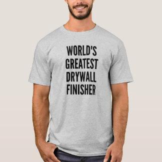 Camiseta Estação de acabamento do Drywall dos mundos a