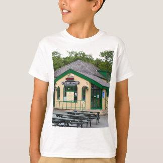 Camiseta Estação de comboio da montanha de Snowdon,