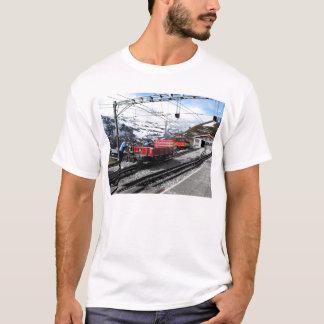 Camiseta Estação de comboio de Kleine Scheidegg na suiça